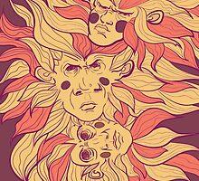 monkey by Any-Li