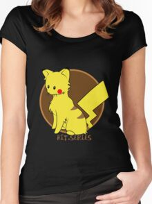 Pikachu Kit.Series Women's Fitted Scoop T-Shirt
