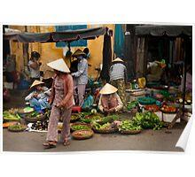 Hoi An Market Poster
