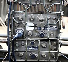 Vintage Military radio , US Army Signal corps , WWII by Tom Conway