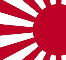 Smartphone Case - Flag of Japan (Ensign) IV by Mark Podger