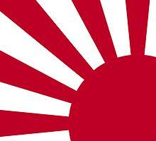 Smartphone Case - Flag of Japan (Ensign) V by Mark Podger
