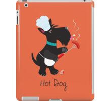 Scottie Dog, Hot Dog iPad Case/Skin