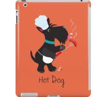 Scottie Dog, Hot Dog iPad Case/Skin