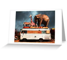 Barnum and Bailey Goes On a Road Trip 5D22705 Greeting Card