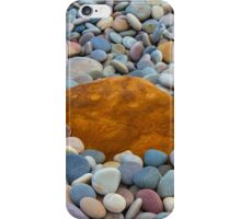 COVE BAY - PEBBLES AND A ROCK iPhone Case/Skin