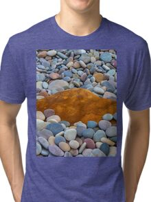 COVE BAY - PEBBLES AND A ROCK Tri-blend T-Shirt