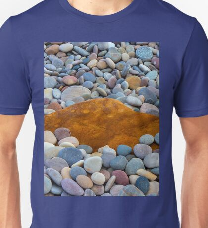 COVE BAY - PEBBLES AND A ROCK Unisex T-Shirt
