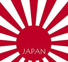 Smartphone Case - Flag of Japan (Ensign) VI by Mark Podger
