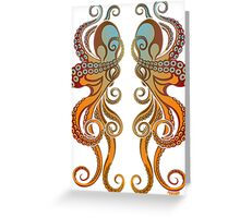 Mono Octopus (duo) #1 Greeting Card
