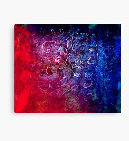 PVA blue Canvas Print