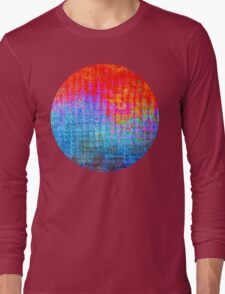 digital Color Long Sleeve T-Shirt