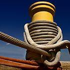 Bollard and Rope by cclaude