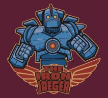 The Iron Jaeger by nikholmes