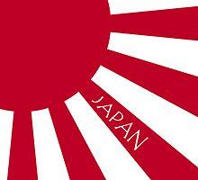Smartphone Case - Flag of Japan (Ensign) X by Mark Podger