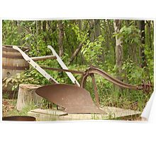 Antique One Share Plow Poster