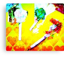 digital candy Canvas Print