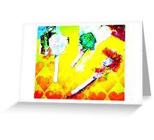 digital candy Greeting Card