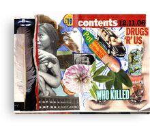 Drugs r USA. Canvas Print