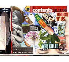 Drugs r USA. Photographic Print