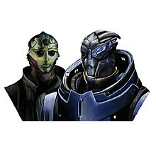 Mass Effect - Thane and Garrus Photographic Print