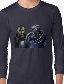 Mass Effect - Thane and Garrus Long Sleeve T-Shirt