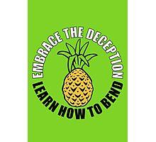Embrace Deception Photographic Print