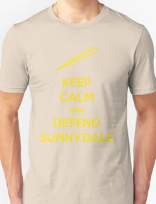 keep calm and defend sunnydale T-Shirt