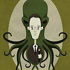 H. P. Lovecraft and Friend by murphypop