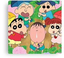shinchan Canvas Print