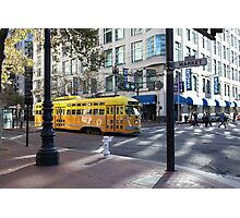 San Francisco Vintage Streetcar on Market Street 5D19798 Photographic Print
