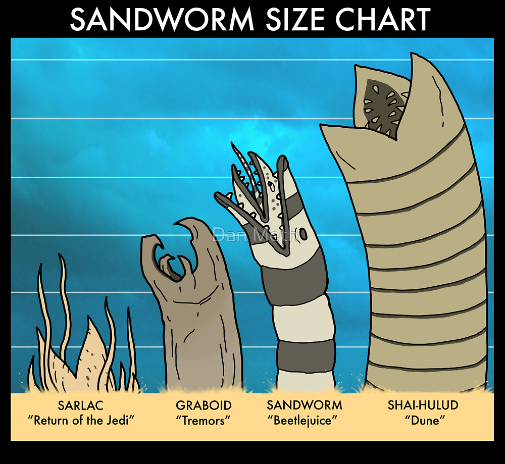 Sandworms by Dan Meth