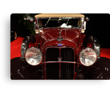 1932 Ford V8 Convertible Victoria - 5D19968 Canvas Print