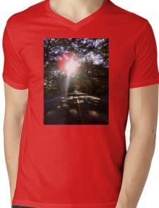 Sun Light, Sun Bright Mens V-Neck T-Shirt
