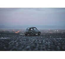 FIAT overlooking the city Photographic Print