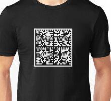 Data Matrix 01 Unisex T-Shirt