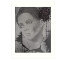 Untitled top canvas of 3 pc. canvas set Art Print