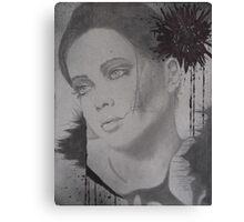 Untitled top canvas of 3 pc. canvas set Canvas Print