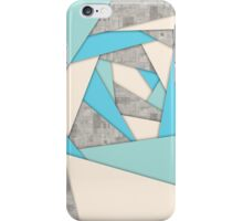 Geometric Shapes Abstract iPhone Case/Skin