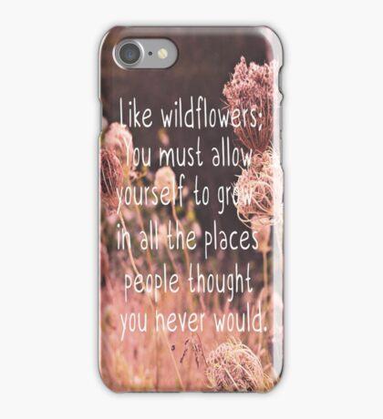 Like Wildflowers iPhone Case/Skin