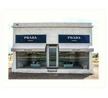 The Prada Installation in Marfa Art Print