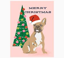 Cute Pug Christmas Tree funny dog art for small dog owners dog person gifts Classic T-Shirt