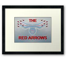 Red Arrows Poster Framed Print