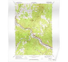 USGS Topo Map  Vermont VT Middlesex 337505 1968 24000 Poster