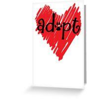 Adopt a Dog - Animal Rescue - Rescue Shelter Animals - Ashland Animal Rescue Fund Greeting Card