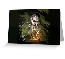 Lord of the Rings - Gandalf Greeting Card