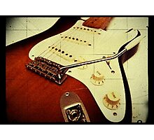Fender Stratocaster Photographic Print
