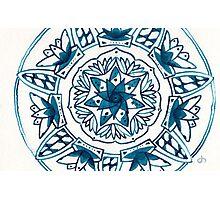 Spirit's Tower Mandala Photographic Print