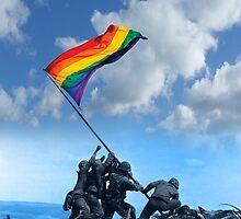 Pride Marine iPhone Case by toddalan