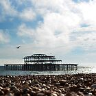 The West Pier by Lucy Adams